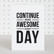 be awesome birthday card by doodlelove notonthehighstreet - Awesome Birthday Cards