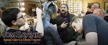 best special effects makeup schools tom savini s special makeup effects program pennsylvania douglas