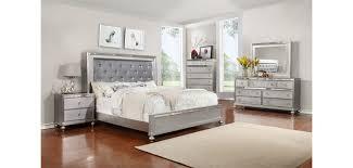 gray bedroom sets bedroom bedroom contemporaryt in silver finish grey incredible