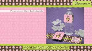 Youtube Baby Shower Ideas by Monkey Baby Shower Theme Youtube
