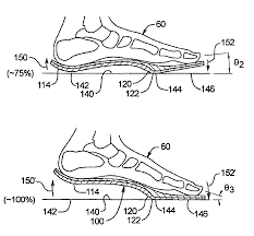 patent us6745501 orthotic for improving toe off action of human