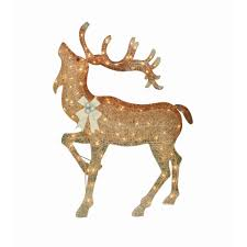 Outdoor Reindeer Christmas Decorations by Holiday Time Christmas Decor 52