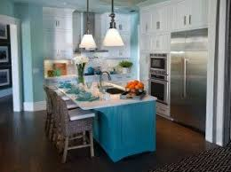Light Blue Kitchen Cabinets by Kitchen Cabinets Get Colorful Domicile Designs