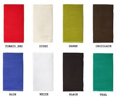 textileshop euro cafe weave terry kitchen towels 16x28