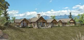 ranch homes designs custom log home timber frame hybrid floor plans wisconsin house