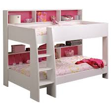 Just Kids Myles Bunk Bed With Storage  Reviews Wayfaircouk - Pink bunk bed