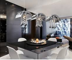 modern ceiling lights for dining room simple design modern glass chandeliers fashion brief crystal pendant
