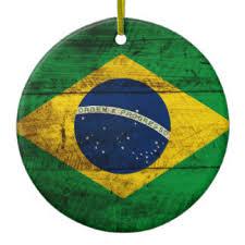 brazil flag ornaments keepsake ornaments zazzle