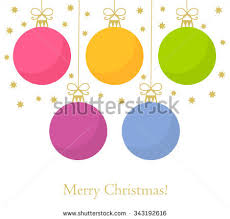 free christmas baubles vector download free vector art stock