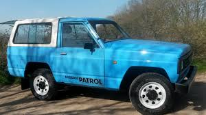 nissan patrol 1989 1985 datsun nissan patrol project 39 000 miles sold sussex retro
