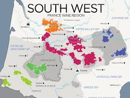 France World Map The Wines Of South West France Map Wine Folly
