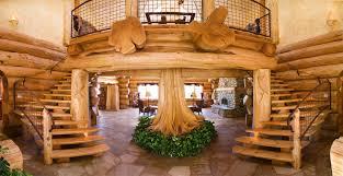 style campagne chic cuisine une maison en bois de luxe dans la nature interieur