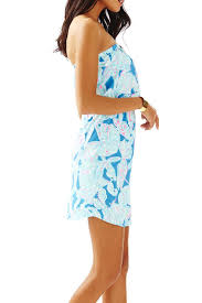 lilly pulitzer windsor strapless pull on dress from sandestin golf