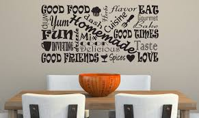 Dining Room Wall Quotes by Top 5 Ideas Of Wall Decor For Kitchen Home Design