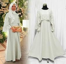 wedding dress brokat model gamis brokat yang menawan dan mewah gamisalya