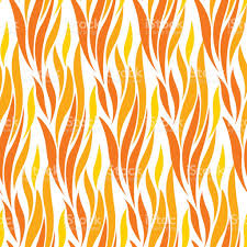 abstract wave red and yellow seamless pattern concept modern