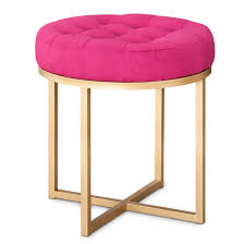Button Tufted Ottoman Threshold Button Tufted Ottoman I M Going With Something Like