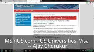 us visa appointment visa date booking visa fee payment youtube
