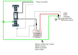 can a motion sensor light be installed prior to a regular light