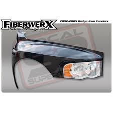 dodge ram prerunner fenders 4 5 flare fiberglass fenders for 02 05 ram 1500 2500 fiberwerx