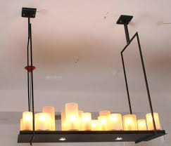 Candle Pendant Light New Arrival Kevin Reilly Altar Candle Led Belt Pendant
