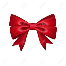 Present Decoration Gift Bow Ribbon Silk Bow Tie Isolated 3d Gift Bow Tie For