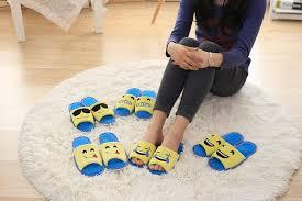 Bedroom Shoes For Womens Popular Emoji Smile Plush Novelty Slipper Shoes Emoji Soft