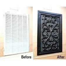 Decorative Wall Return Air Grille Return Air Vent Cover Sizes Decorative Wall Return Air Vent Cover