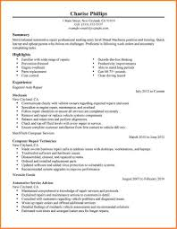 diesel mechanic resume 5 diesel mechanic resume resume cover note