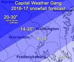 Washington Dc Weather Map by Capital Weather Gang U0027s Winter Outlook For D C Colder Than Last