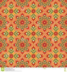 moorish seamless pattern stock vector image 78543395