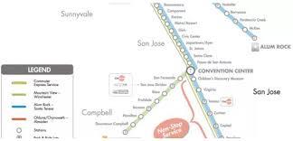 san jose light rail map light rail schedule san jose americanwarmoms org