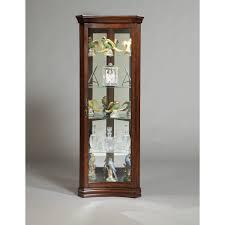 Corner Display Cabinet With Glass Doors Curio Cabinet Impressive Small Corner Curio Cabinets Pictures