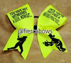 softball bows best 25 softball bows ideas on softball hair bows