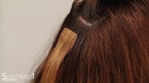 Sarahs Hair Extensions by Ako Odstrániť Seamless1 Hair Extensions Youtube