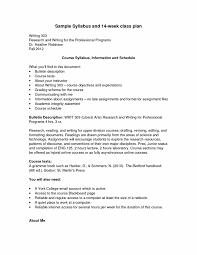 standard syllabus format u2014 york college cuny