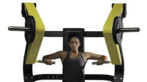 pure strength seated chest press machine technogym