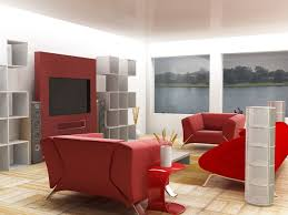 bedroom wall colour combination red walls psychology room