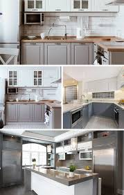 gray and white kitchen cabinets ideas 55 gorgeous gray kitchen ideas
