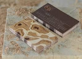 unique wood veneer business cards mackey saturday cardrabbit