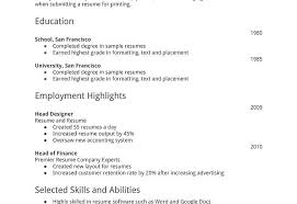 resume formats word resume template striking format word free ms in fresher