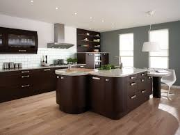 White Backsplash Kitchen Modern Kitchen Cabinet Black Wood Kitchen Cupboard Doors Glossy