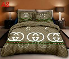 Gucci Bed Set Luxury Bedding Sets Cotton Set These Dibs