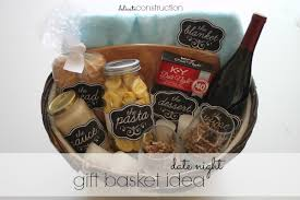 date gift basket ideas date gift basket idea with free printables ad delicate