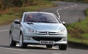 peugeot cabriolet 2017 peugeot 206 coupé cabriolet review 2001 2007 parkers