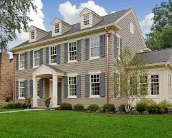 colonial home design the paint schemes for house exterior exterior colors