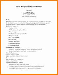 Resume Ok 7 Medical Receptionist Resume Examples Format Of Acv Cover Letter