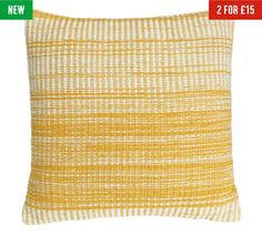 buy heart of house cotton knitted pod yellow at argos co uk