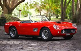 250 california replica 1961 250 gt swb california spyder up for auction 95 octane
