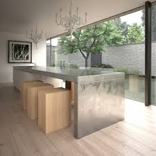 kitchen island as table stainless steel kitchen island for modern kitchen style